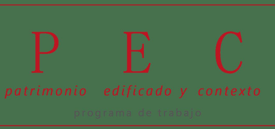 Programa de Trabajo Patrimonio Edificado y Contexto